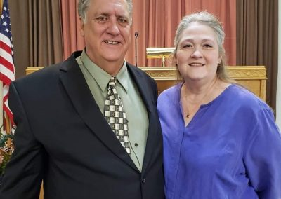 Pastor Nick Linville and wife Lisa